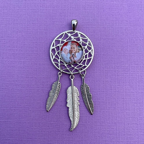 Personalised Memory Charm: Dreamcatcher Charm