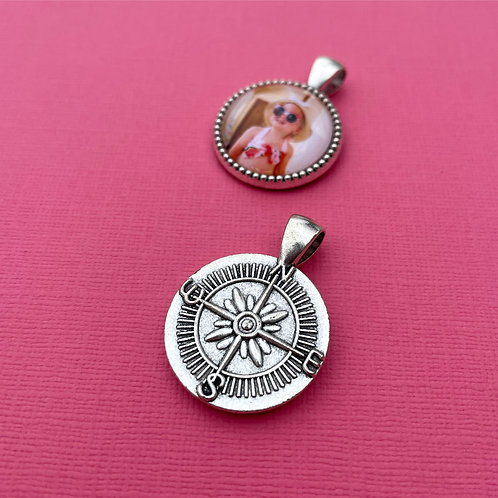 Personalised Memory Charm: Compass Charm