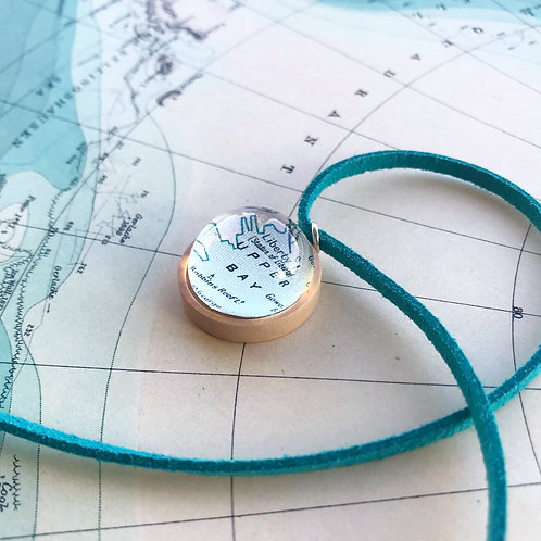 Personalised Travel Map: Wooden Charm