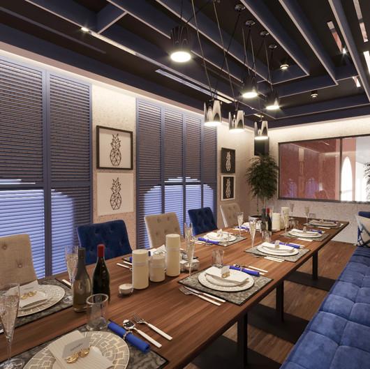 VIP комната.Ресторан KASPIY