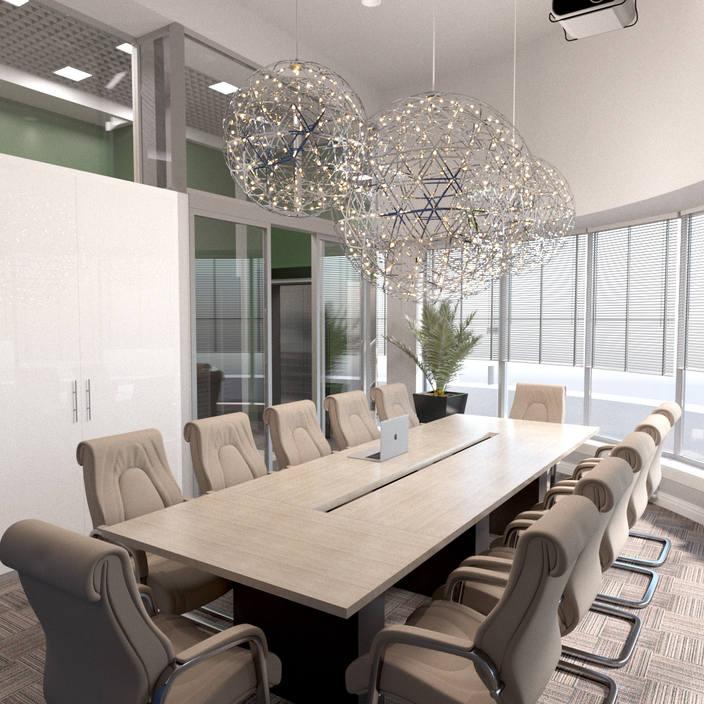 стильный и соврименный дизайн офиса