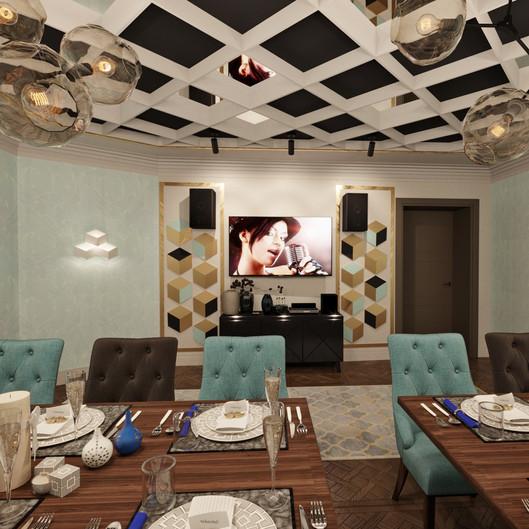 VIP комната. Ресторан KASPIY