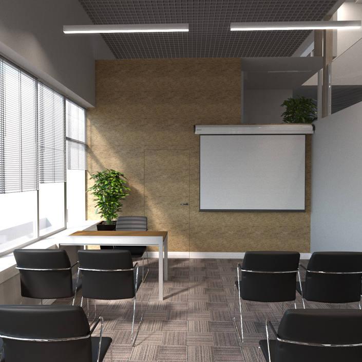 зал для проведения собраний в офисе