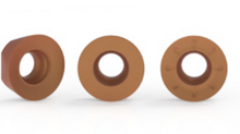 ROUND INSERTS WITH LOCATION FLATS