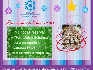 """Ya está en marcha la """"Amasada Solidaria 2017"""""""