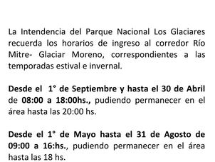 El Parque Nacional Informa