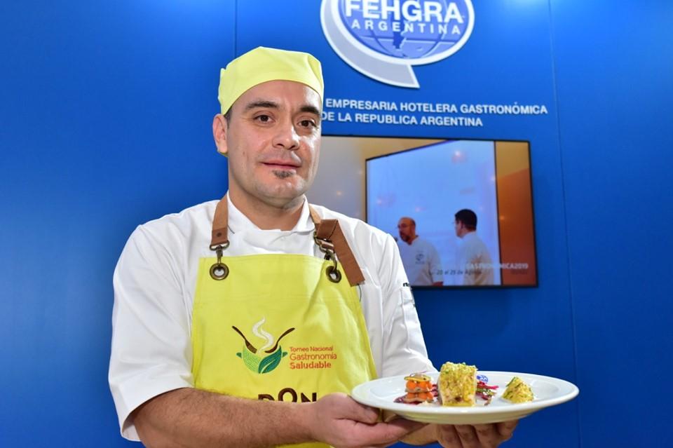 Chef Guillermo Vergara - Plato