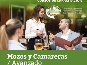"""Comienza el curso"""" Mozos y Camareras- Nivel Avanzado"""""""
