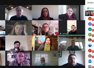 Participamos de Reunión virtual Binacional Argentina –Chilena