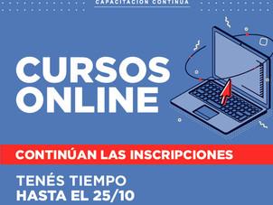 Últimos días de inscripción cursos online de CAC