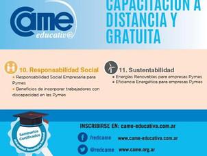 Seminarios de Responsabilidad Social de CAME