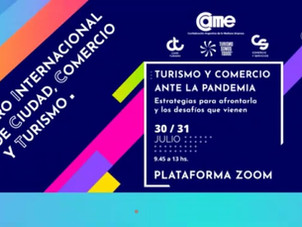 Participamos del XIX Foro Internacional de Ciudad, Comercio y Turismo.