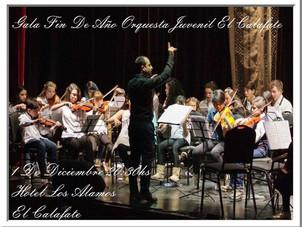 Gala de cierre de la Orquesta Juvenil de El Calafate