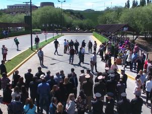 Participamos de actos oficiales por Aniversario de El Calafate y Asunción de autoridades