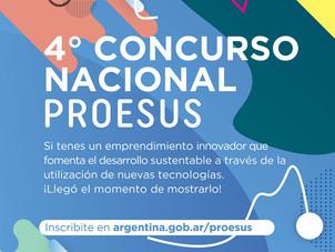 """Invitación a participar del 4° Concurso Nacional """"Proesus"""""""