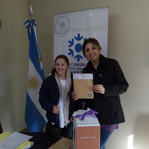 1 Premio -Natalia Fernández