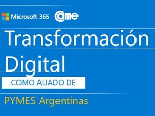 """CAME y MICROSOFT presentan """"La transformación digital como aliada de las Pymes argentinas"""""""