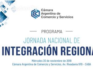 Estamos participando de las Jornada Nacional de Integración Regional