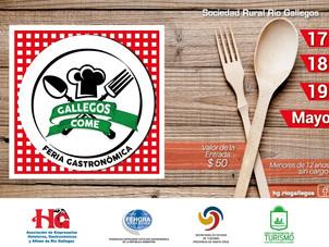 "Feria Gastronómica ""GALLEGOS COME"""