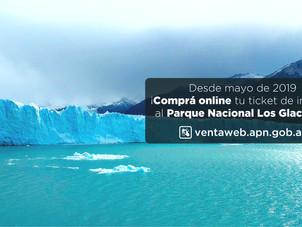 """Tickets online para ingresar al PN """"Los Glaciares"""""""