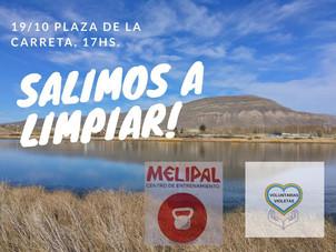 Jornada de limpieza del Arroyo Calafate