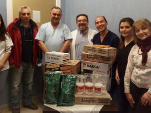 Realizamos donación conjunta por Día del donante de Sangre