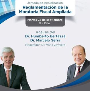 Jornada de Actualización sobre Reglamentación de la Moratoria Fiscal Ampliada