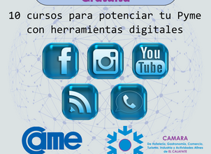 Ciclo gratuito de Seminarios Web en la Cámara de El Calafate