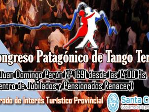 Este fin de semana comienza el 6to Congreso Patagónico de Tango Terapia