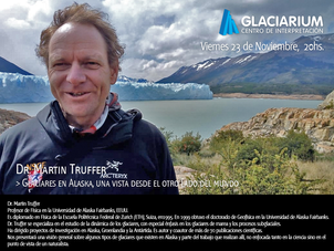 Charla de importante científico en Glaciarum