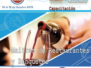 """Mañana comienza el curso """"Maîtres de Restaurante y Banquetes"""""""