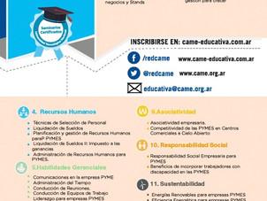 Seminarios a distancia CAME Educativ@
