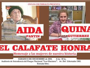 Ciclos Culturales festeja el cumpleaños 91 El Calafate y el 60 aniversario de la provincia de Santa