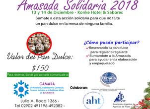Amasada Solidaria 2018: manos a la obra.