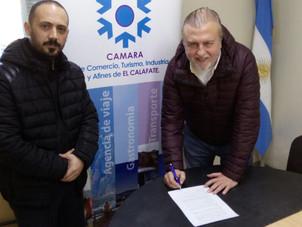 Se firmó un convenio marco con la UNPA.