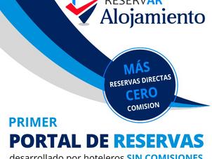 """Nueva presentación del Motor de Reservas, """"ReservAR Alojamiento"""" de FEHGRA, el primer portal desarro"""