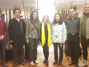 Nos reunimos con Referentes del Turismo Chino.