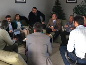 Reunión con representantes de Aerolíneas Argentinas