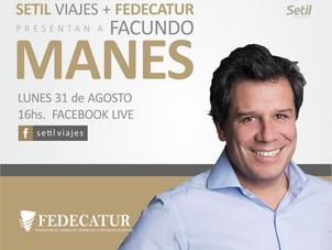 """Charla gratuita con Facundo Manes """"Capacidad de Adaptación al cambio & Resiliencia"""""""