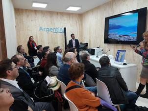 """Presentación de """"Patagonia Fantástica"""" en FITUR 2018"""