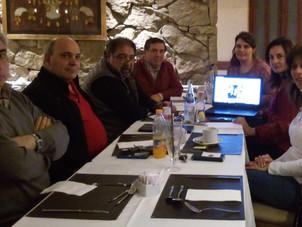 Reunión con la Gerente de CCA de Valencia, España.