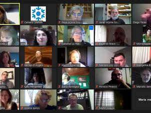 Tercer encuentro Virtual Abierto propuesto por la Cámara de El Calafate.