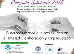 Amasada Solidaria 2018: Sumamos manos para ayudar