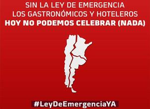Continuamos el reclamo conjunto de la Ley de Emergencia Turística