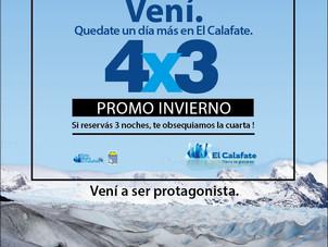 """Sumate a la Campaña """"PROMO INVIERNO 4X3"""""""