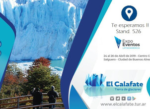 El Calafate participa de Expo Eventos Latinoamérica 2019