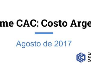 """Informe sobre el """"Costo Argentino"""" de la CAC"""