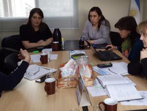 Reunión con la Senadora Nacional Ana María Ianni