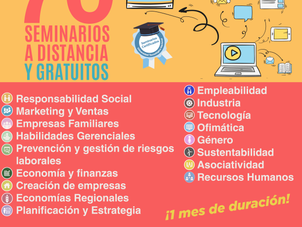 Propuestas de capacitación On line de CAME EDUCATIVA