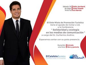 Conferencia del Periodista Guillermo Andino